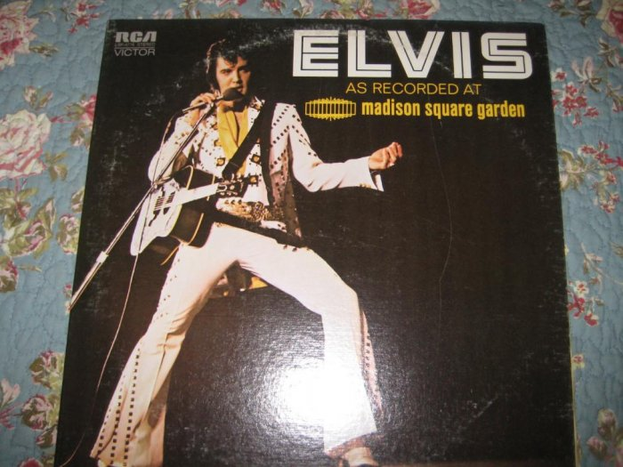 Elvis: Live at Madison Square Garden 33 1/3 rpm