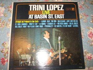 Trini Lopez: Live at Basin St. East 33 1/3 rpm