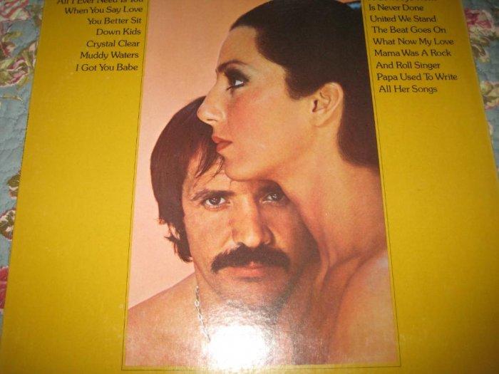 Sonny & Cher: Greatest Hits Album 33 1/3 rpm
