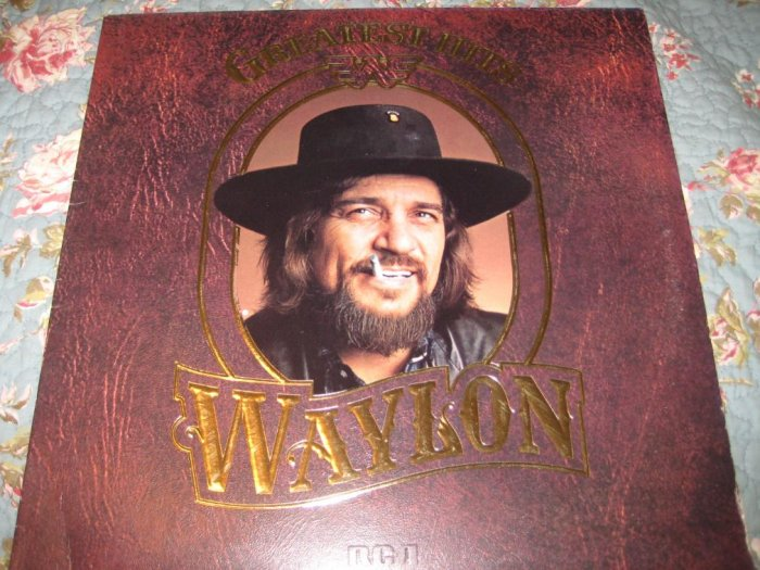 Waylon's Greatest Hits Album 33 1/3 rpm