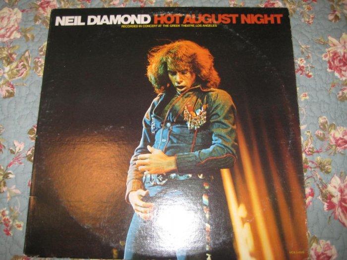Neil Diamond's A Hot August Night 33 1/3 rpm
