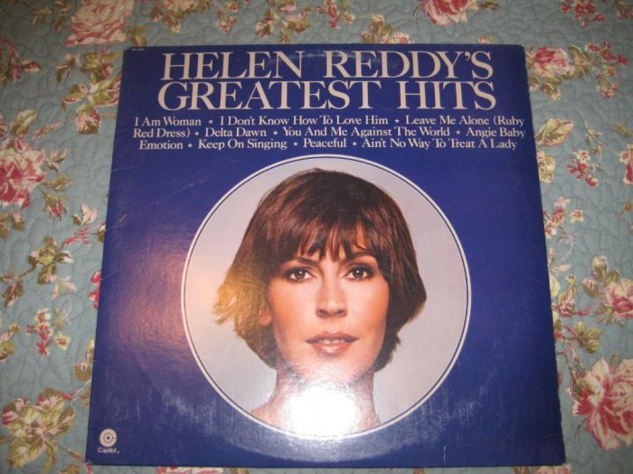 Helen Reddy's Greatest Hits Album 33 1/3 rpm