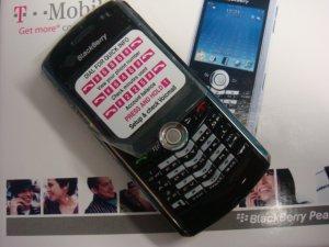 New Unlocked Blackberry Pearl 8100