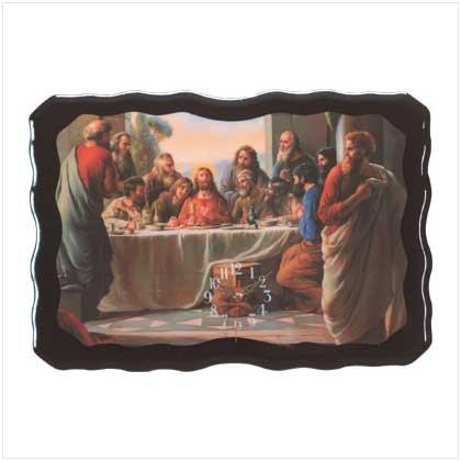 Last Supper Wall Clock - 29488