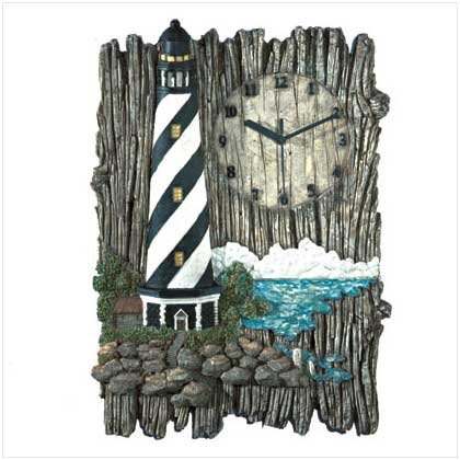 Lighthouse Wall Clock - 31415
