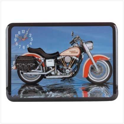 Motorcycle Wall Clock - 31850