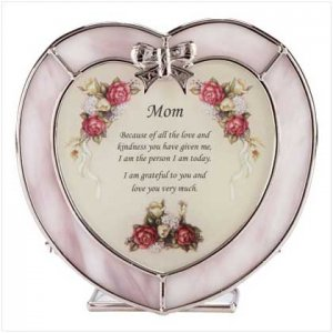 Heart Candleholder For Mom - 33745