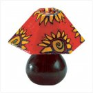 Mini Sunburst Design Lamp Shade Candle - 34652