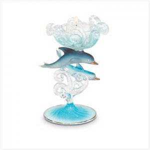 Dolphin Candleholder - 35255