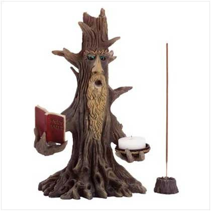Wizened Tree Candle Holder - 35332