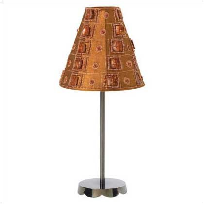 Luminescent Brown Candle Lamp - 35551