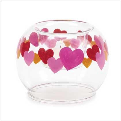 Circular Hearts Candleholder - 36356