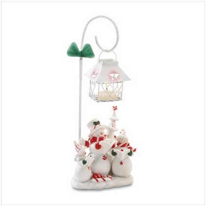 Snowman Candle Holder - 37114