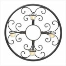 Circular Wall Candle Holder - 37602