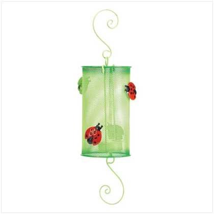 Ladybug Metal Lantern - 37886