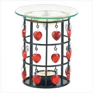 Danglin Hearts Oil Warmer - 38216