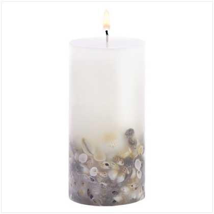 Seashell Candle - 38306