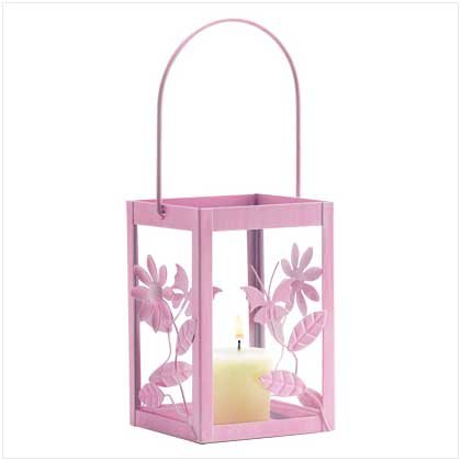 Springtime Pink Candleholder - 38374
