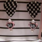 Tony Stewart picks GUITAR PICK EARRINGS!