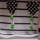 Dale Earnhardt jr picks 2 GUITAR PICK EARRINGS!