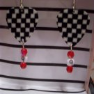 Kasey Kahne picks GUITAR PICK EARRINGS!