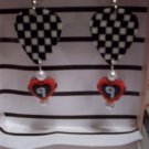 Kasey Kahne picks 2 GUITAR PICK EARRINGS!
