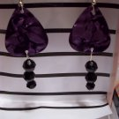 Purple picks 1 GUITAR PICK EARRINGS!