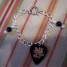 Hello Kitty bracelet toggle with beads GUITAR PICK