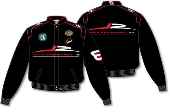 Dale Earnhardt Jr. Black Youth Jacket - Medium
