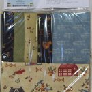 Folk Art Fancy Panel and Fat Quarter Pak