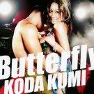 Koda Kumi - BUTTERFLY (CD&DVD) w/Obi - Used