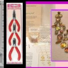 Czech Marea Beads Jewelry Making KIT - Bead Board tools