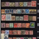 USED STAMPS WORLDWIDE SELECTION--LOT-524
