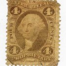 USA SCOTTS R22-U S REVENUE-4 CENT PROPRIETARY-ID#550