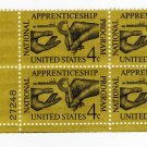 USA SCOTT #1201-APPRENTICESHIP-PLATE BLOCK-U S STAMPS