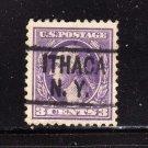 usa scott# 501 precancel u s used stamp (lot# 211)