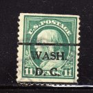 USA SCOTT# 511 PRECANCEL, WASH DC, (LOT# 213)
