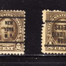 USA SCOTT# 551 PRECANCEL ERROR, (LOT# 215)