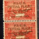 SCOTT# C53 PHILIPPINES CHINA CLIPPER VERTICAL PAIR(LOT#229)