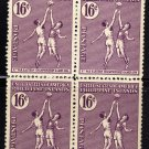 SCOTT# 382, PHILILIPPINE STAMPS, BLOCK OF 4 (LOT#243)