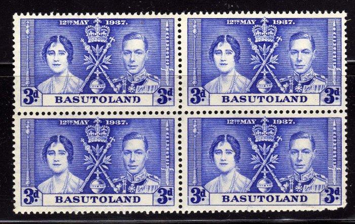 SCOTT# 17, BASUTOLAND-KING GEORGE CORONATION ISSUE