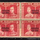 SC0TT# 109 COOK ISLAND STAMPS KING GEORGE Vl CORONATION ISSUE