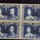 SC0TT# 110 COOK ISLAND STAMPS KING GEORGE Vl CORONATION ISSUE