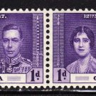 SC0TT# 128, GRENADA STAMPS KING GEORGE Vl CORONATION ISSUE