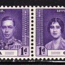 SC0TT# 128, GRENADA STAMPS KING GEORGE Vl CORONATION ISSUE