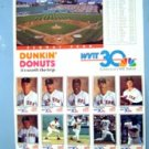 1992 Boston Red Sox Dunkin Donuts WVIT TV Channel 30 Card Set