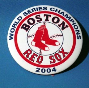 2004 World Series Champions Boston Red Sox Pin