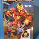 Mega Bloks Transforming Blok Bots #9338 TORCH MIB FS