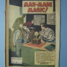 1953 General Electric Comic ~ Man-Made Magic