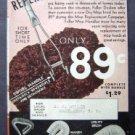 1937 FULLER BRUSH ADVERTISEMENT CATALOG EX